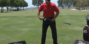 Fan Your Foot Backswing